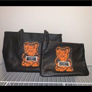 NWT Coach NY Gummy Bear Tote & Pouch